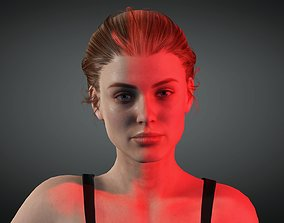 Cassie - 4K Animasyon For game Low-poly 3D model animated