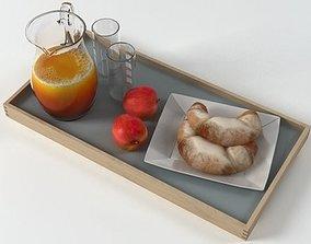 breakfast glass 3D model
