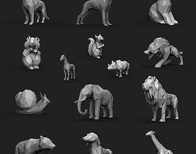 Animal Low Poly 3D