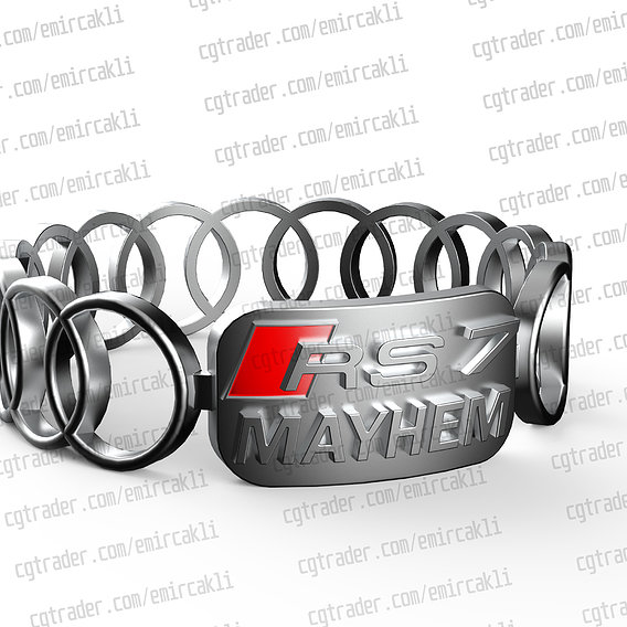 AUDI RS7 RING - RS 7 and special name ring - You can contact me for cooperation and other issues.