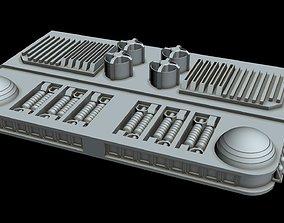 3D spacecraft Starship part 2