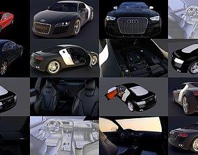 Audi Cars race 3D model