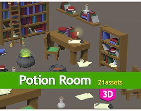 Potion room pack 3D model