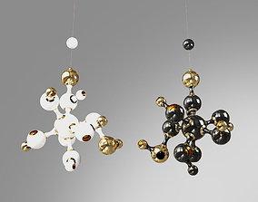 3D model Delightfull Atomic chandelier