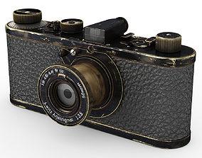 3D Leica 0-series vintage camera