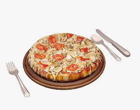 3D asset Pizza