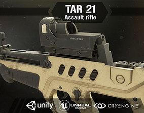 Tar 21 Assault Rifle 3D asset