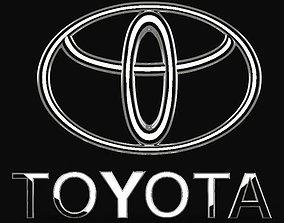 3D print model Toyota logo