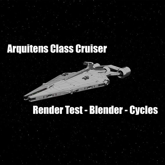 Arquitens Class Cruiser - Star Wars - Fan-Art