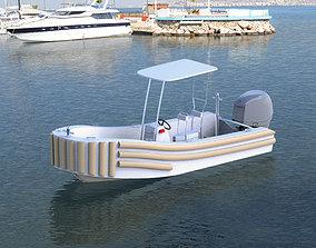 3D model Tug Boat tug