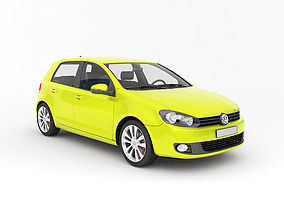 VW Golf 3D model