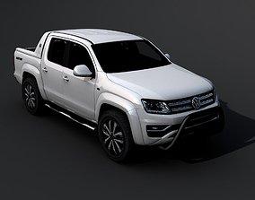 truck Volkswagen Amarok 2017 3D model