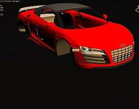 sport-car Audi R8 3D