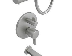 Shower Controls 3D model
