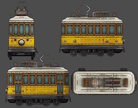 game-ready tram 3D