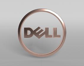 DELL Logo 04 3D model