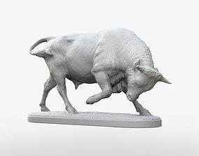 Bull Statue money 3D printable model