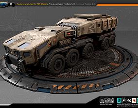 3D asset RTS Truck - 11