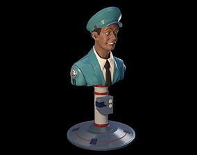 3D printable model Total Recall Johnny Cab