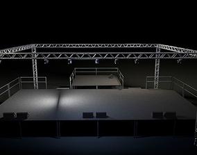 Concert Venue Stage 3D