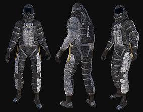 3D asset astronaut 001