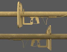 3D model Panzerschrek - German WW2 Weapon