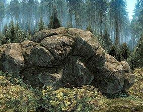 Forest Rock 3D model
