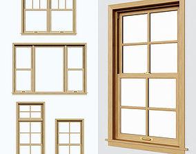 3D model Double Hung Windows