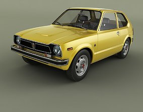 Honda Civic 2-door 1972 3D model