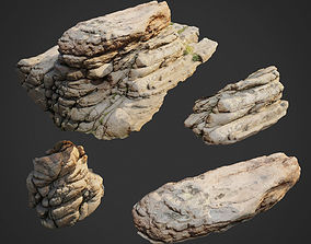 3d scanned nature stone 009