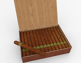 3D cabinet Cigar Box