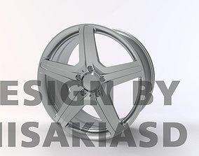 Wheel Rim Metal 3D model STR FORGED-03 3D print