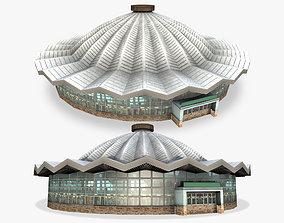 3D asset Circus Building