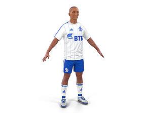 Soccer Player Dynamo 3D model