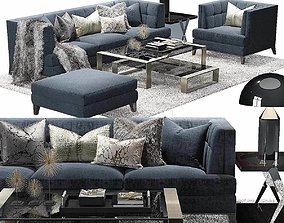 3D model The Sofa and Chair Company Preston sofa Hirst 1