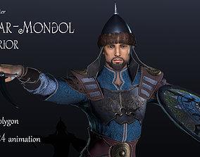 3D model Tatar-Mongol