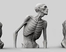 Zombie Half Body 3D print model
