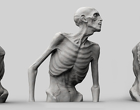 3D printable model Zombie Half Body