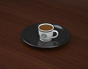 STARBUCKS CAFFE CUP 3D