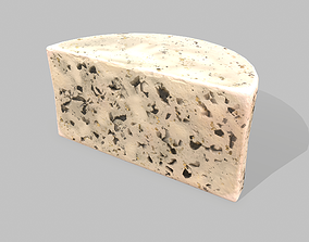 Roquefort Cheese 3D asset