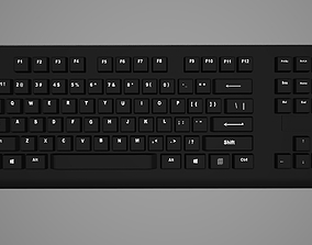 Keyboard 3D asset