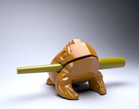 Singing frog 3D print model