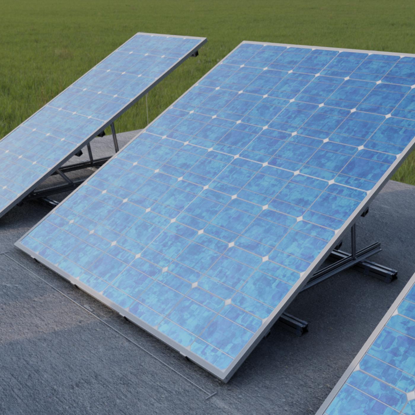 Solar Panels - Blender-2.93