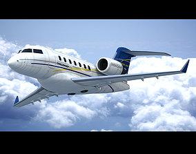 Bombardier Challenger 605 3D
