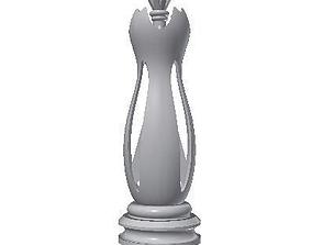 3D print model Chess Queen