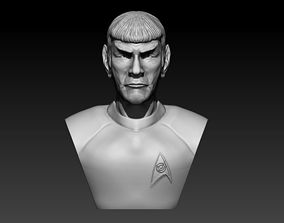 3D print model Spock Bust