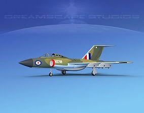 3D model Gloster F-9 Javelin V03