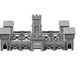 3D printable model stadium - fortress of the leprechauns