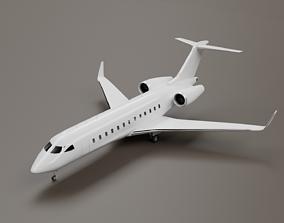 Bombardier Global 5500 3D model