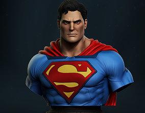 3D printable model Stl Superman Bust